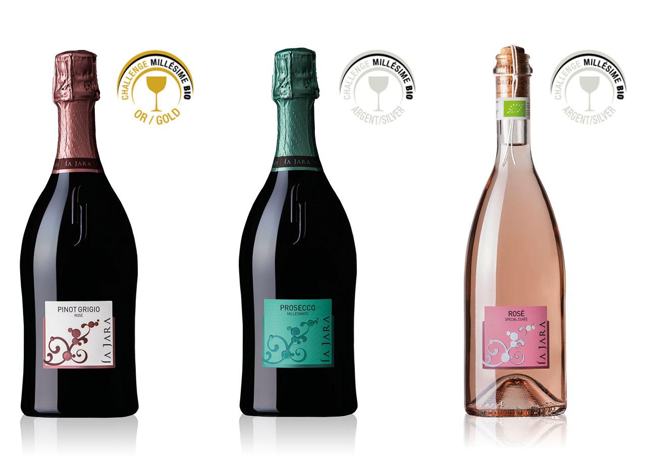 La Jara Wines Awarded at Challenge MillésimeBIO 2017